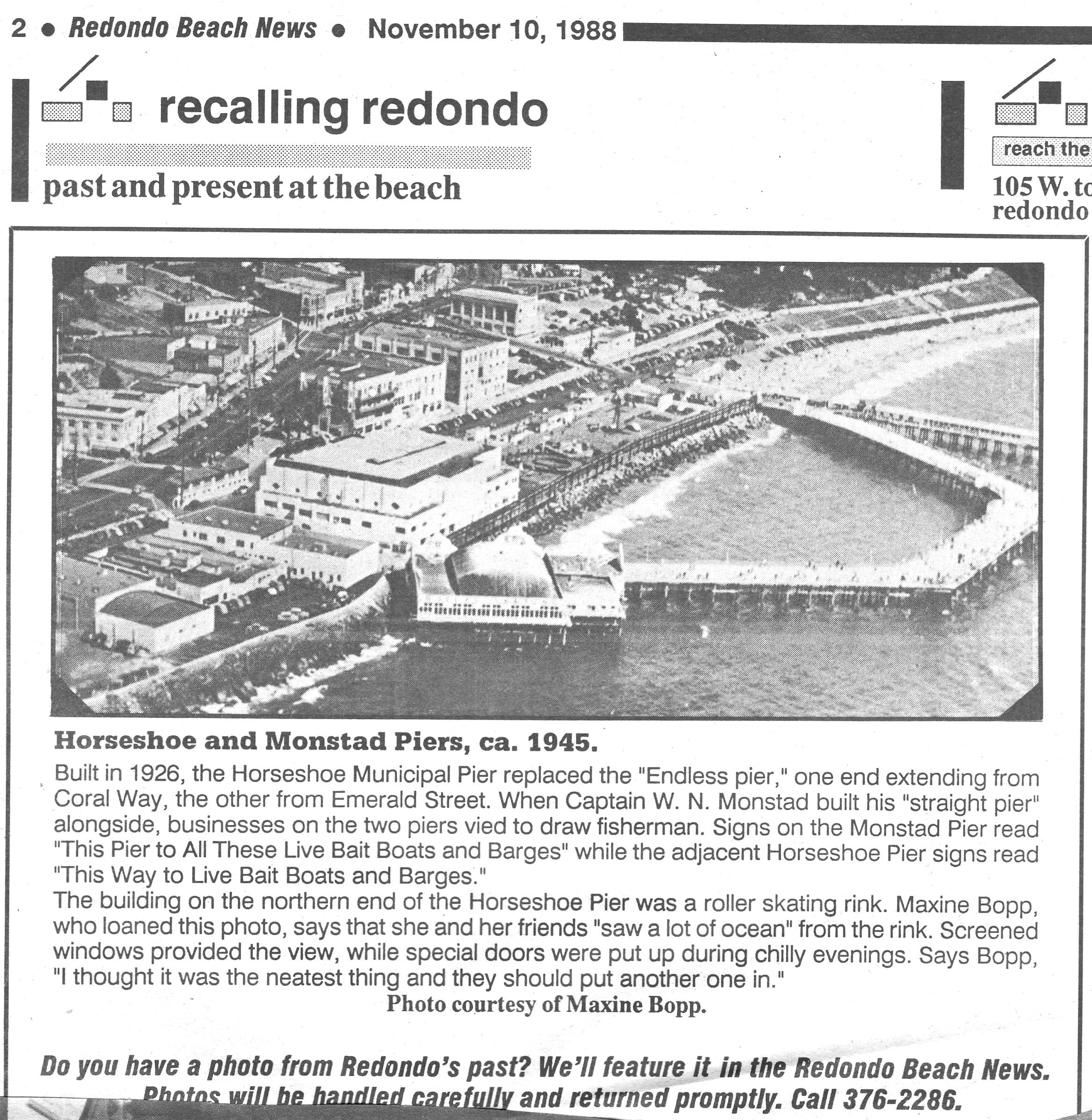 redondo-pier-1945